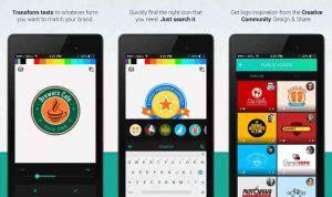 aplikasi membuat logo online shop di android 5 aplikasi pembuat logo di android gratis terbaik 2018