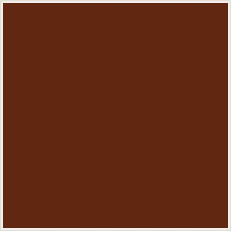 redwood color 612711 hex color rgb 97 39 17 orange redwood