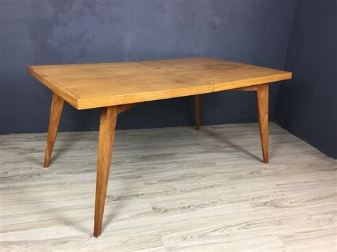 solid maple dining table mid century solid maple dining table retrocraft design