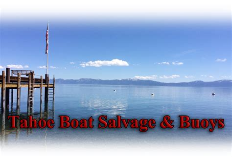 boat salvage lights buoy lights south lake tahoe city homewood tahoe boat