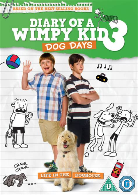 diary of a wimpy kid days diary of a wimpy kid 3 days dvd zavvi