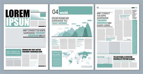 newspaper layout illustrator newspaper design stock illustration illustration of