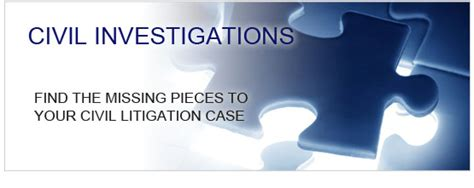 civil investigation services from los angeles to new york