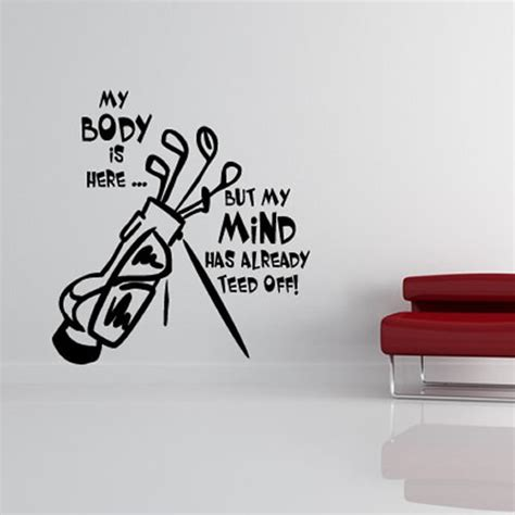 golf wall stickers funky beautiful golf wall decals funk this house