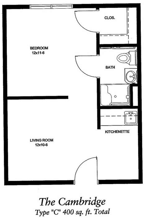 400 sq feet 400 sq ft apartment floor plan google search 400 sq ft
