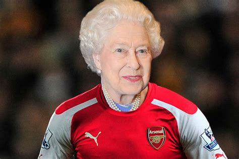 arsenal queen arsenal fan asks the queen to help him get an fa cup final