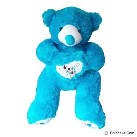 Boneka Binatang Besar Blue Cow by Jual Raja Boneka Beruang Besar Rb743 Blue Murah