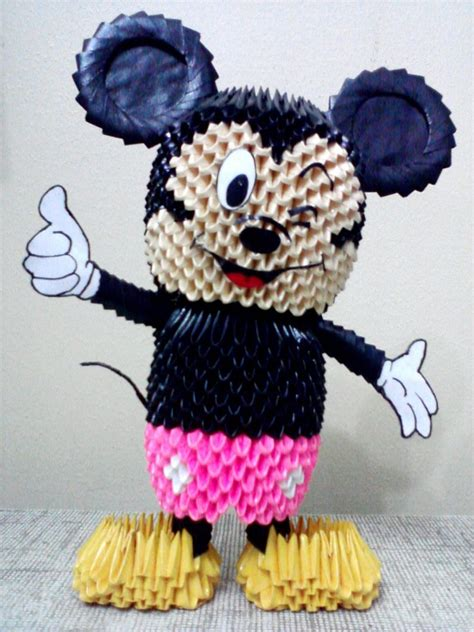 Mickey Mouse Origami - mickey mouse jpg album mohammad nofal 3d origami