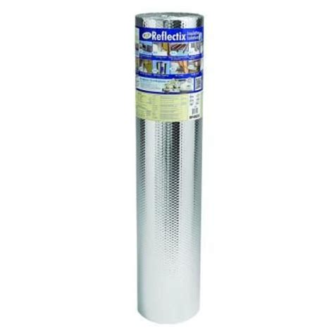 reflectix 48 in x 25 ft double reflective insulation