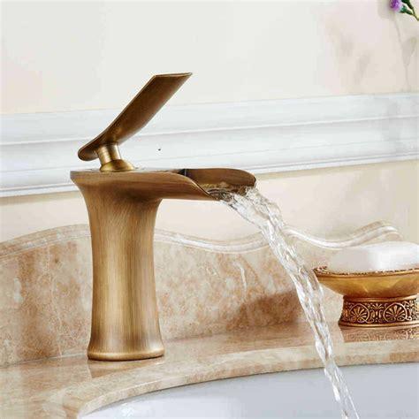 Antike Messing Badezimmerarmaturen by Freies Verschiffen Antike Bad Wasserfall Wasserhahn Und