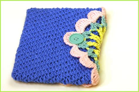 crochet ipad bag pattern crochet tutorial ipad cover 171 yarnutopia by nadia fuad