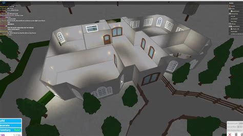 1 floor mansion bloxburg roblox bloxburg one story 100k house speedbuild