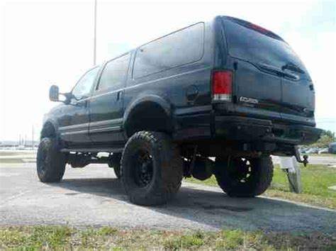 Ford Excursion Lift Kit by Purchase Used 2001 Ford Excursion Limited Edition Lifted