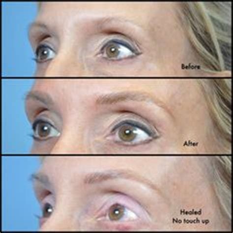 tattoo eyebrows for older women check out the amazing results of microblading on an older