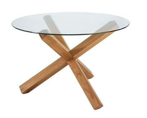 Lyon Oak Glass Dining Table Bentley Designs Lyon Oak Glass Top Dining Table Branded Furniture