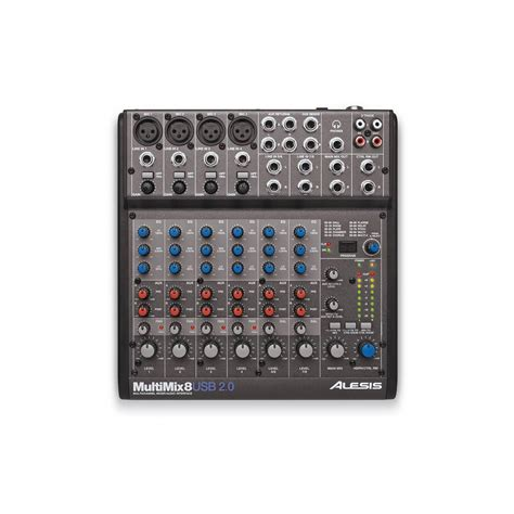 Mixer Audio Beyer alesis multimix 8 usb 2 0 mixer audio interface