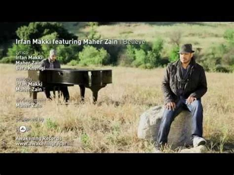 Infan Land Musical Play irfan makki feat maher zain i believe arb lyrics