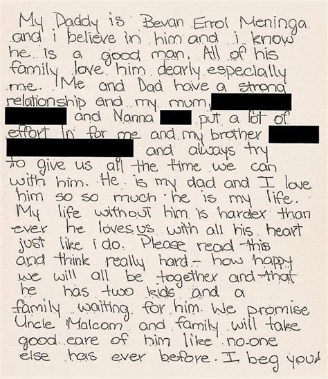 dad writes touching letter to daughter with down syndrome bevan meninga s daughter s heartfelt note helped free