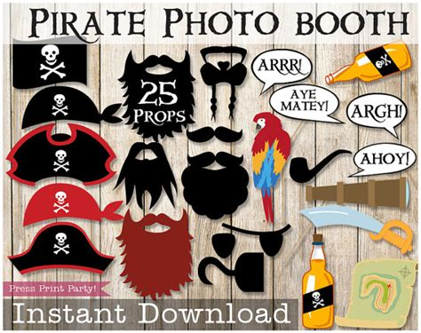 free printable photo booth props pirate pirate photo booth props pirate party pirate birthday