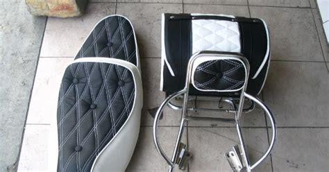Pesanan Mr Yudi 1 modifikasi jok motor paket tas honda vario pesanan mr