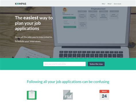 Application Letter Kompas Kompas The Easiest Way To Plan Your Applications Betalist