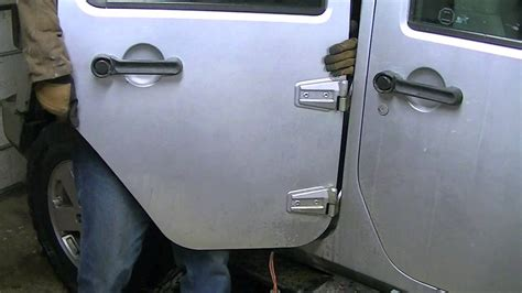 2008 jeep wrangler door hinges 2008 jeep jk hinge repair