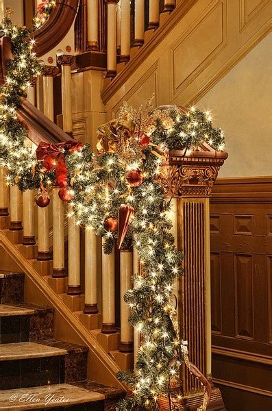 christmas banisters pinterest discover and save creative ideas