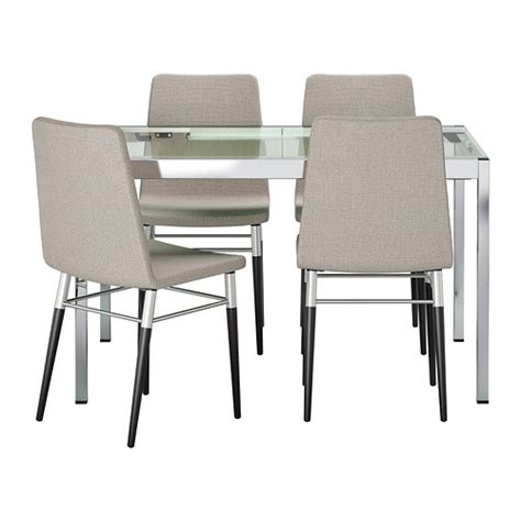table 4 chaises ikea glivarp preben table and 4 chairs ikea