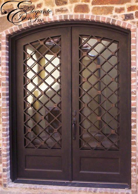 custom wrought iron front door puertas de entrada de
