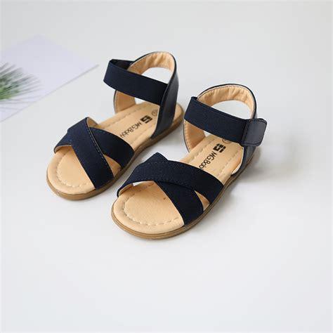 Sandal Fashion Korea 288 2017 summer new sandals korean style children summer shoes elastic band toddler baby