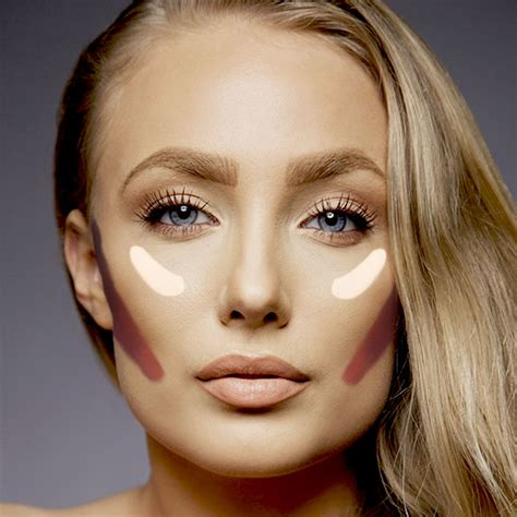 makeover cheek marble blush on how to get well defined and chiseled cheekbones with makeup