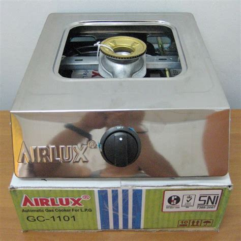 Kompor Gas Airlux National airlux kompor gc 1101 jual portable gas cooker murah