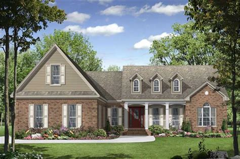 louisiana european country home plan 087d 0646 house plans