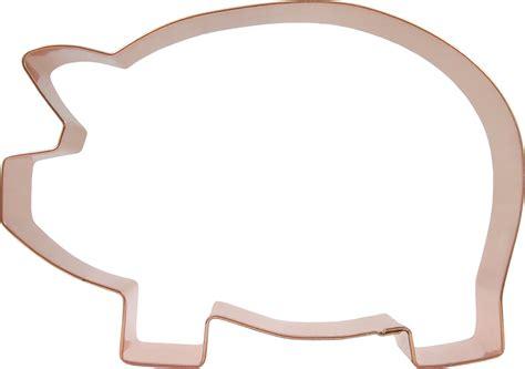 Cookie Cutter pig cookie cutter big