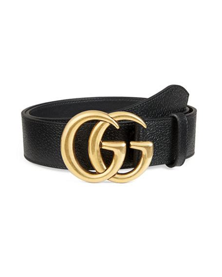 gucci s leather belt with g buckle neiman