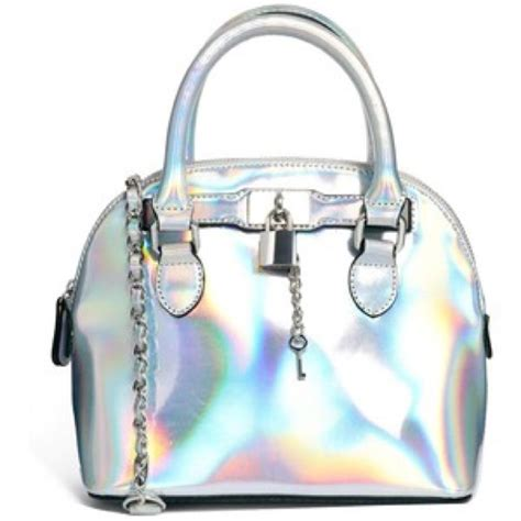 Patent Handheld Shopper Bag At Asos For Kate Moss On A Budget Style by Aldo Iso Aldo Holographic Purse From Danielle S