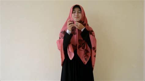 tutorial hijab wolfis tutorial jilbab segiempat motif 08128668346 jilbab motif