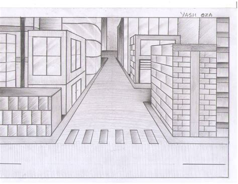one point perspective room one point perspective living room drawing