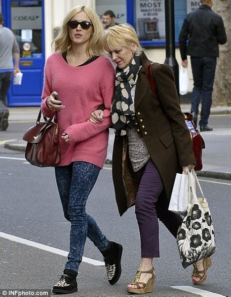 fearne cotton shows where she got her fashion sense from