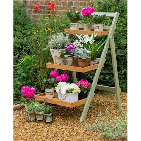 norfolk leisure florenity verdi folding pot shelf garden
