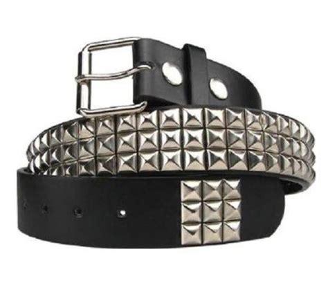 Studded Belt 3 row studded belt ebay
