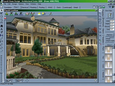 punch software home and landscape design professional punch home design architectural series 4000