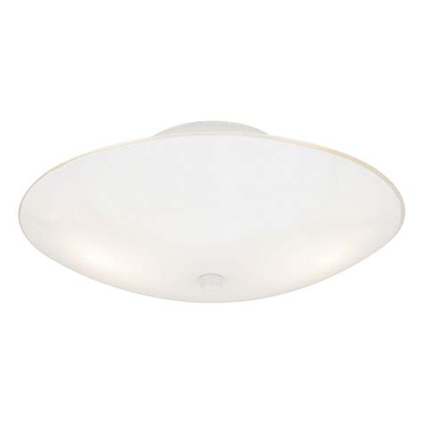 White Flush Ceiling Light Westinghouse 2 Light White Interior Ceiling Semi Flush Mount Light With White Glass 6624200