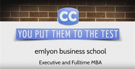 Emlyon Business School Mba by Mba Pr 233 Parez Un Executive Mba Avec Emlyon Executive