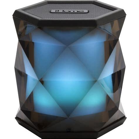 ihome light up speaker ihome ibt68 mini bluetooth speaker ibt68bc b h photo