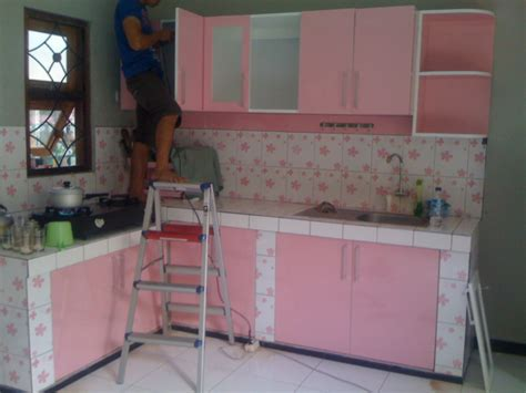 Kitchen Set Per Meter Hpl Kitchen Set Finishing Hpl Motif Warna