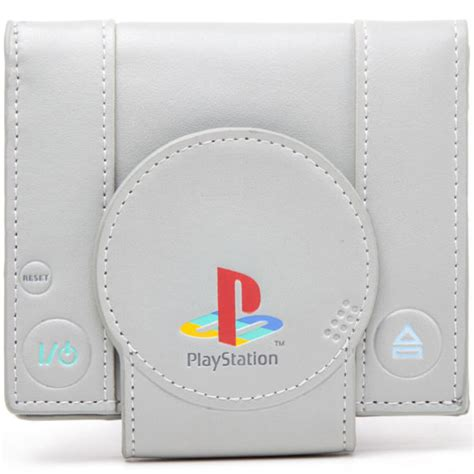 playstation one console sony playstation one console bi fold wallet merchandise