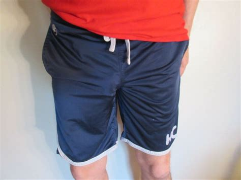 Hollister Mens Athletic Shorts Small Blue Ebay