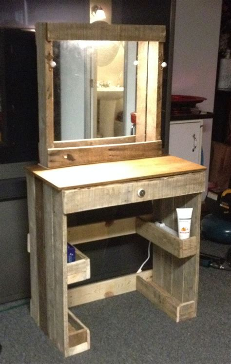Handmade Vanity Table - 36 diy makeup vanity ideas and designs gallery gallery
