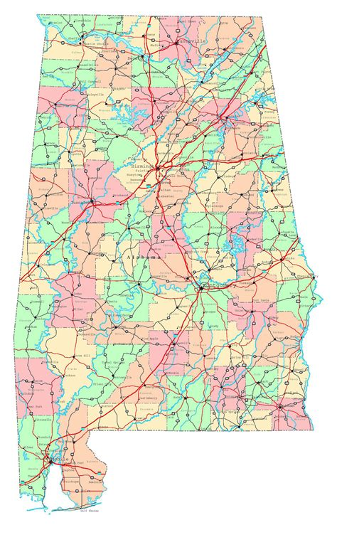 the images collection of sears home map al house large detailed administrative map of alabama state with